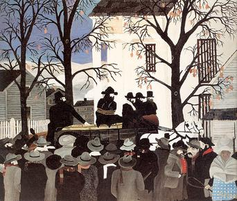 Horace_Pippin,_John_Brown_Going_to_His_Hanging